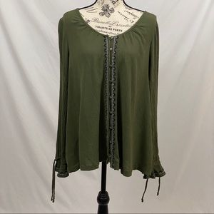 Sonoma Blouse Green Size Large